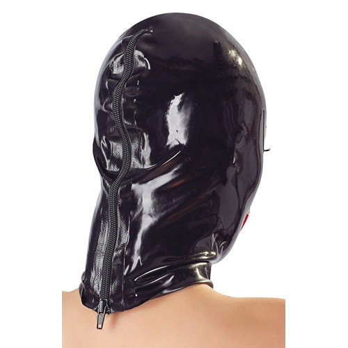 The Latex Collection Bondage Hoofdmasker Met Lippen