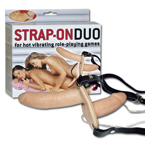You2Toys Dubbel Vibrerende Strap-on
