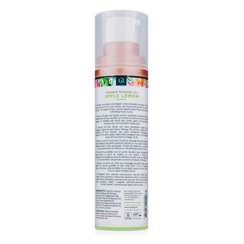 Exotiq Exotiq Massageolie Apple Lemon - 100 ml