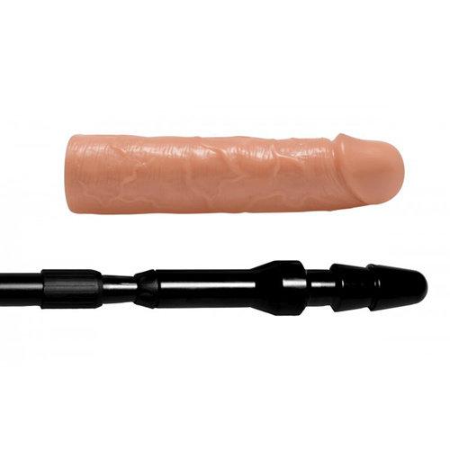 Master Series Dick Stick Uitschuifbare Stok Met Dildo