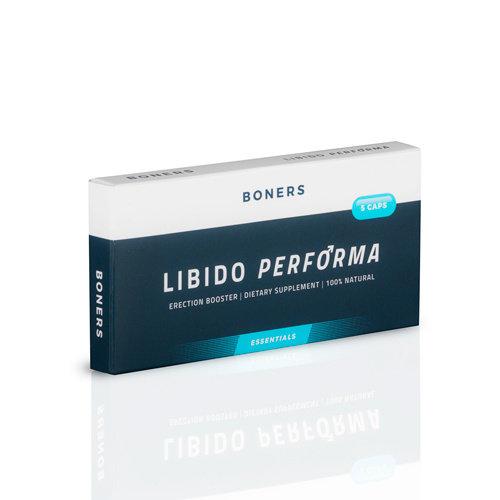 Boners Boners Libido Performa Erectiepillen - 5 Stuks