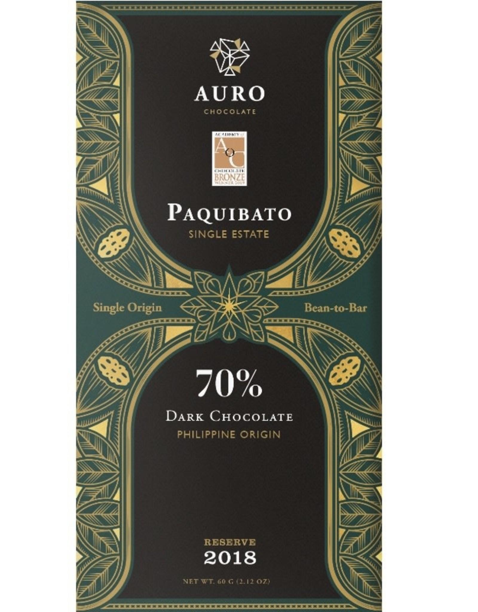 AURO, Philipines Auro Philipines, Tree to bar, Paquibato 70%