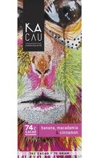 Kacau, Ecuador Banaan, Macadamia, Kaneel puur 74%