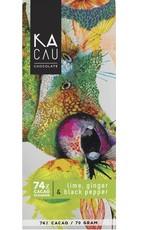 Kacau, Ecuador Limoen, Gember, Zwarte Peper, puur 74%