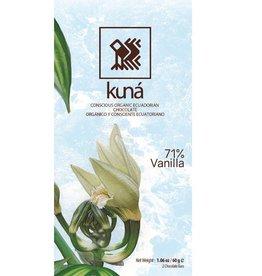 KUNÁ, Ecuador Kuná Vanilla, 71% 60gr