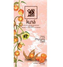 KUNÁ, Ecuador Kuná Physalis, Salt, 71% 60gr