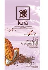 KUNÁ, Ecuador Kuná Raw Nibs, Atacama Salt, 71%