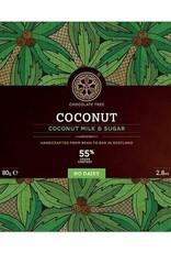 Chocolate tree, Scotland Chocolate Tree Coconut Vegan Milk 55%