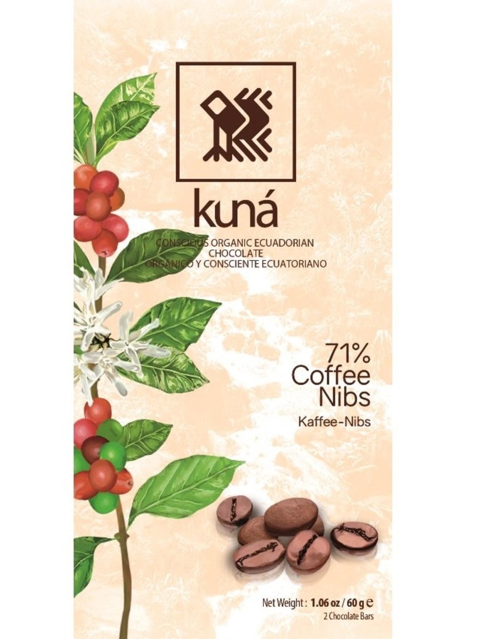 KUNÁ, Ecuador Kuná Coffee Nibs