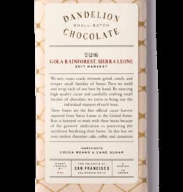Dandelion Dandelion Gola Rainforest, Sierra Leone 70%