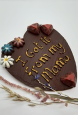 "Florentina.Chocolates Mothers day ""I got it from my mom"""