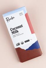 Raaka, Brooklyn Raaka Coconut Milk, Unroasted, Uganda, 60%
