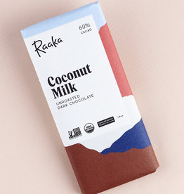 Raaka, Brooklyn Raaka Coconut Milk, Unroasted, Uganda, 60%