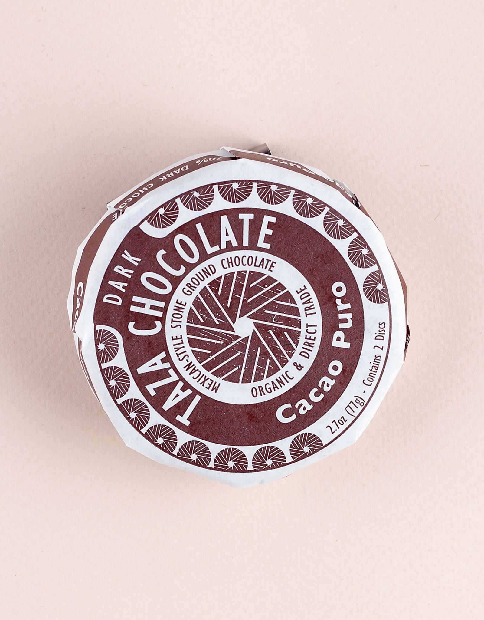Taza, Somerville Taza Mexicano, Cacao Puro, 70%