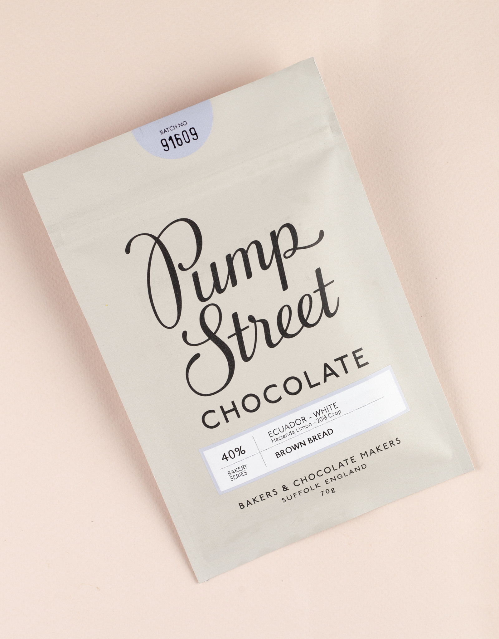 Pump Street Pump Street Brown Bread White 40%