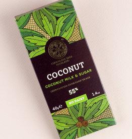 Chocolate tree, Scotland Chocolate Tree Coconut Vegan Milk 55% mini