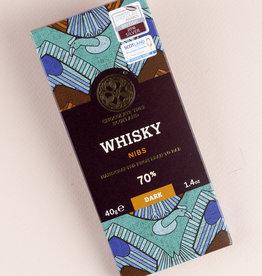 Chocolate tree, Scotland Chocolate Tree Whisky Nibs 70% mini