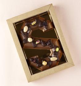 Florentina.Chocolates Sinterklaas Letter melk en nootjes