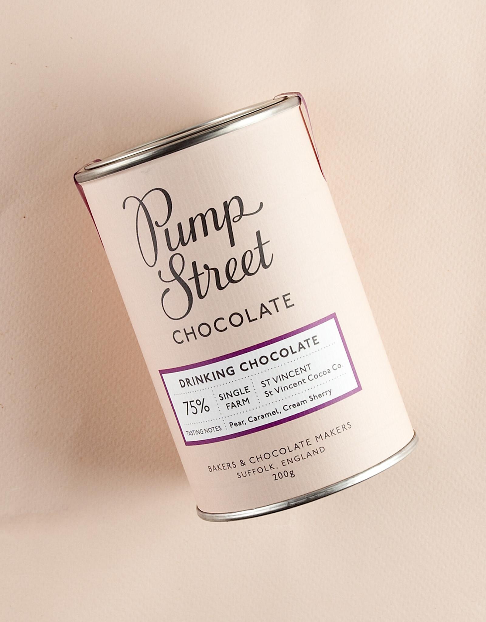 Pump Street Drinkchocolade - St Vincent 75%  Puur