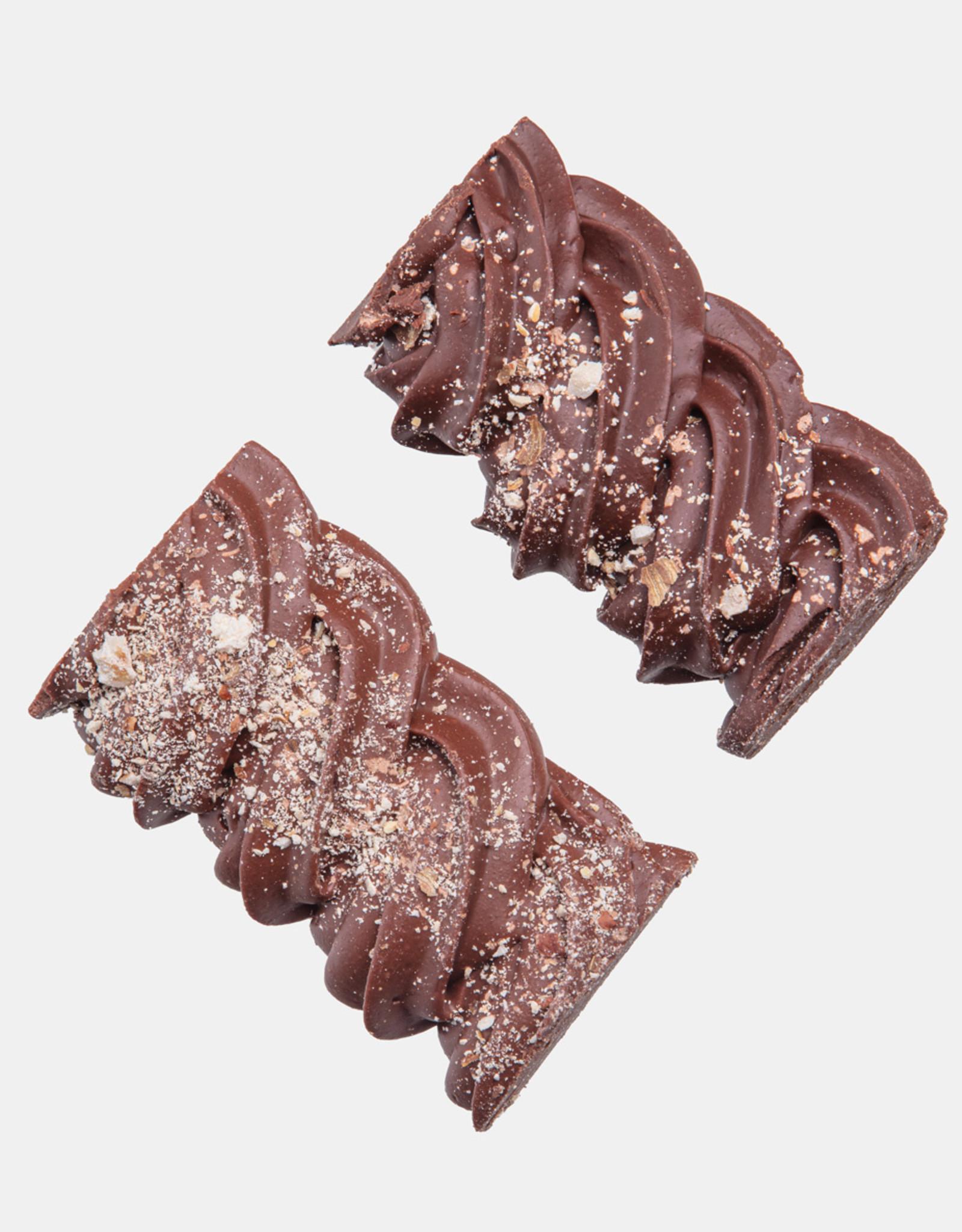 Florentina.Chocolates Hazelnoot praline swirl puur en mylk VEGAN