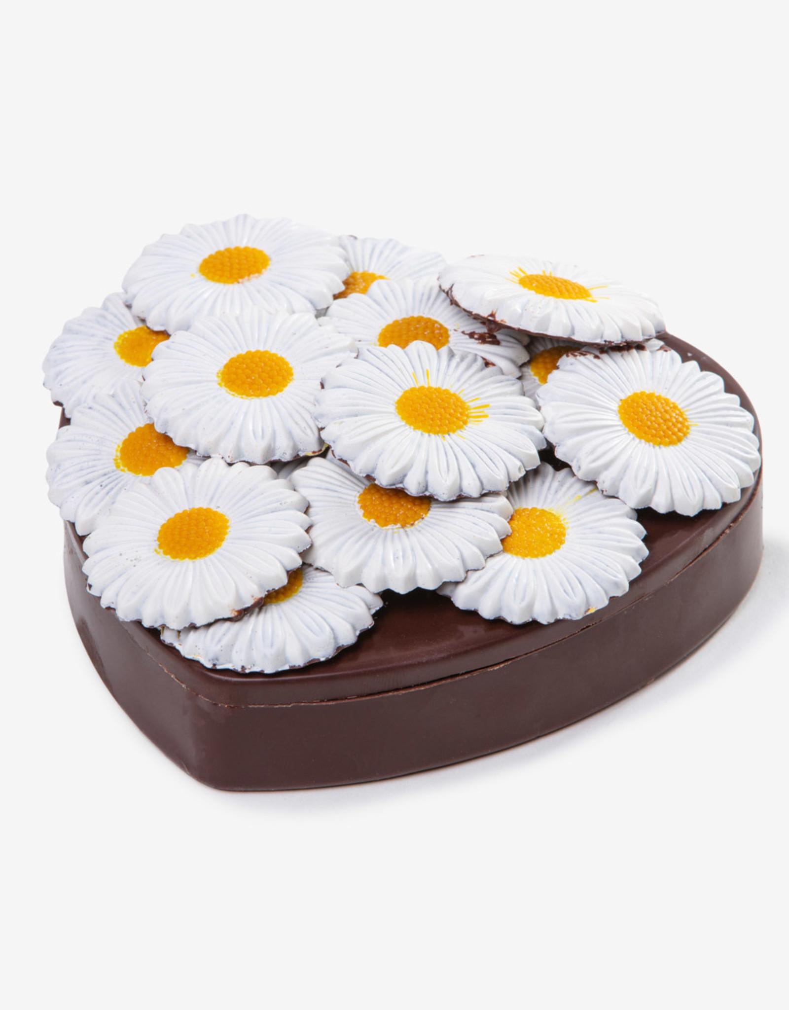 Florentina.Chocolates Florentina Moederdag Chocolade Hart Flowers met Bonbons
