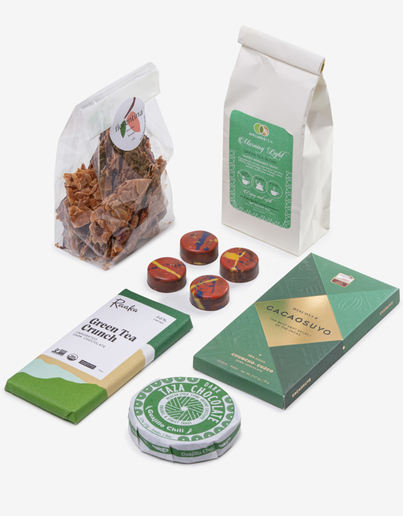 Florentina.Chocolates Florentina Great Green Cadeau Pakket