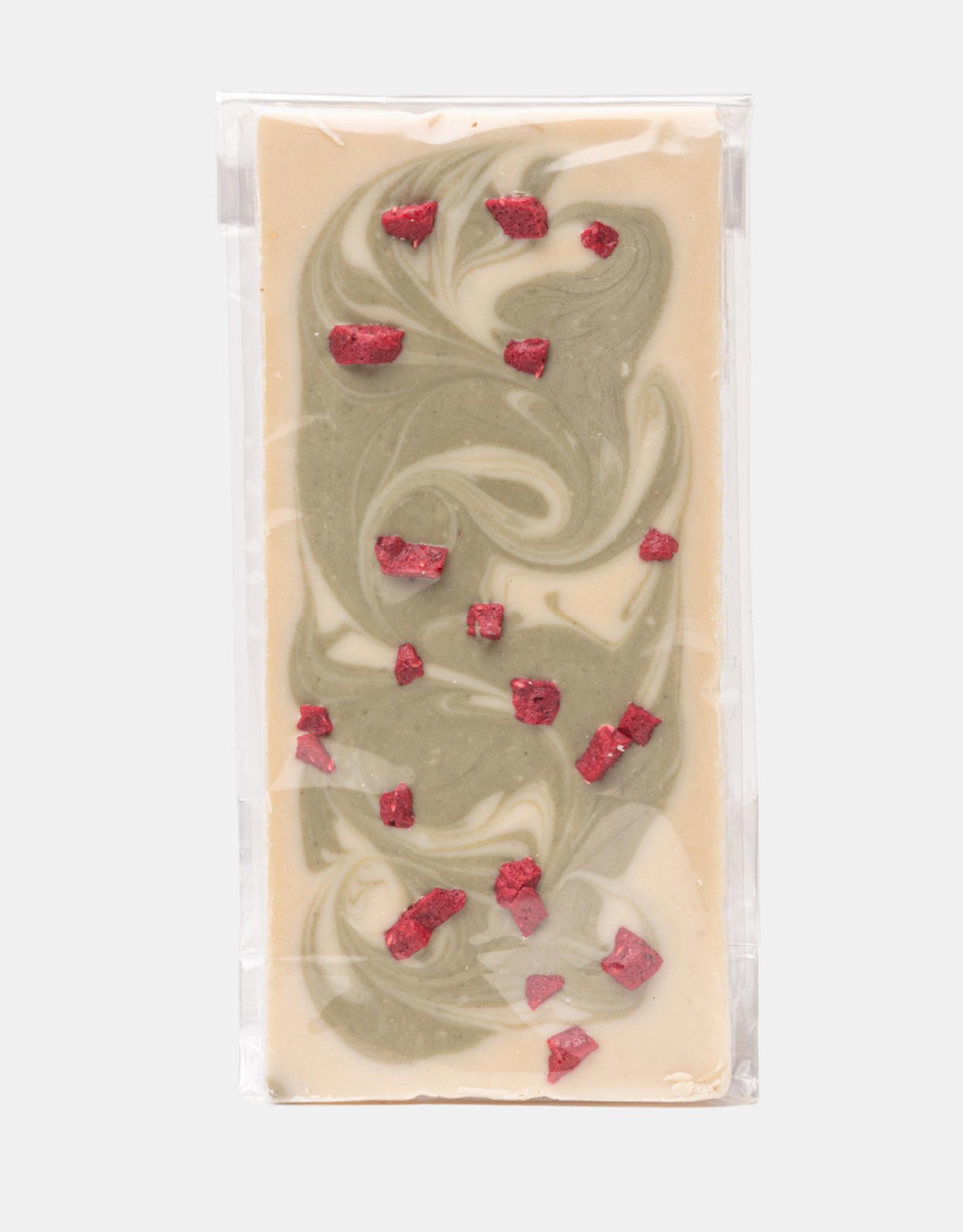 Florentina.Chocolates Florentina Reep Matcha Raspberry VEGAN