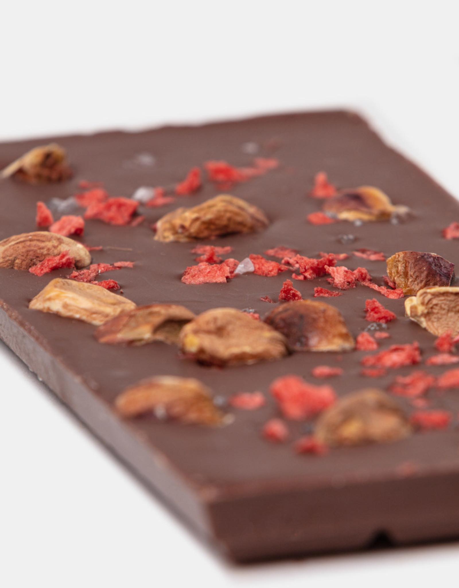 Florentina.Chocolates Florentina Reep Pistachio Strawberry Sea salt VEGAN