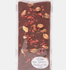 Florentina.Chocolates Florentina Reep Pistachio Strawberry Seasalt VEGAN
