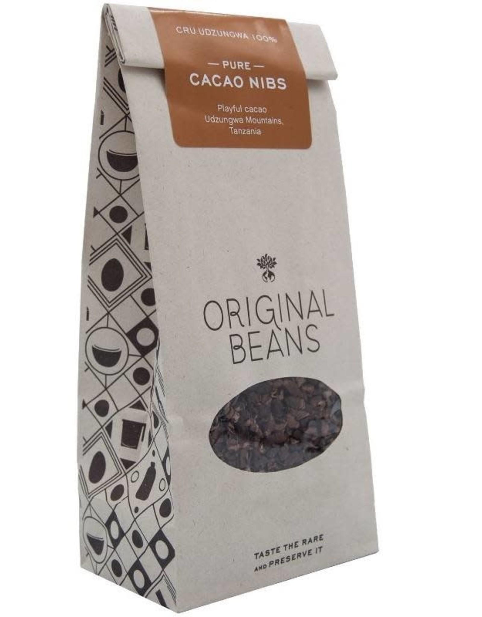 Original Beans Udzungwa pure cacao nibs
