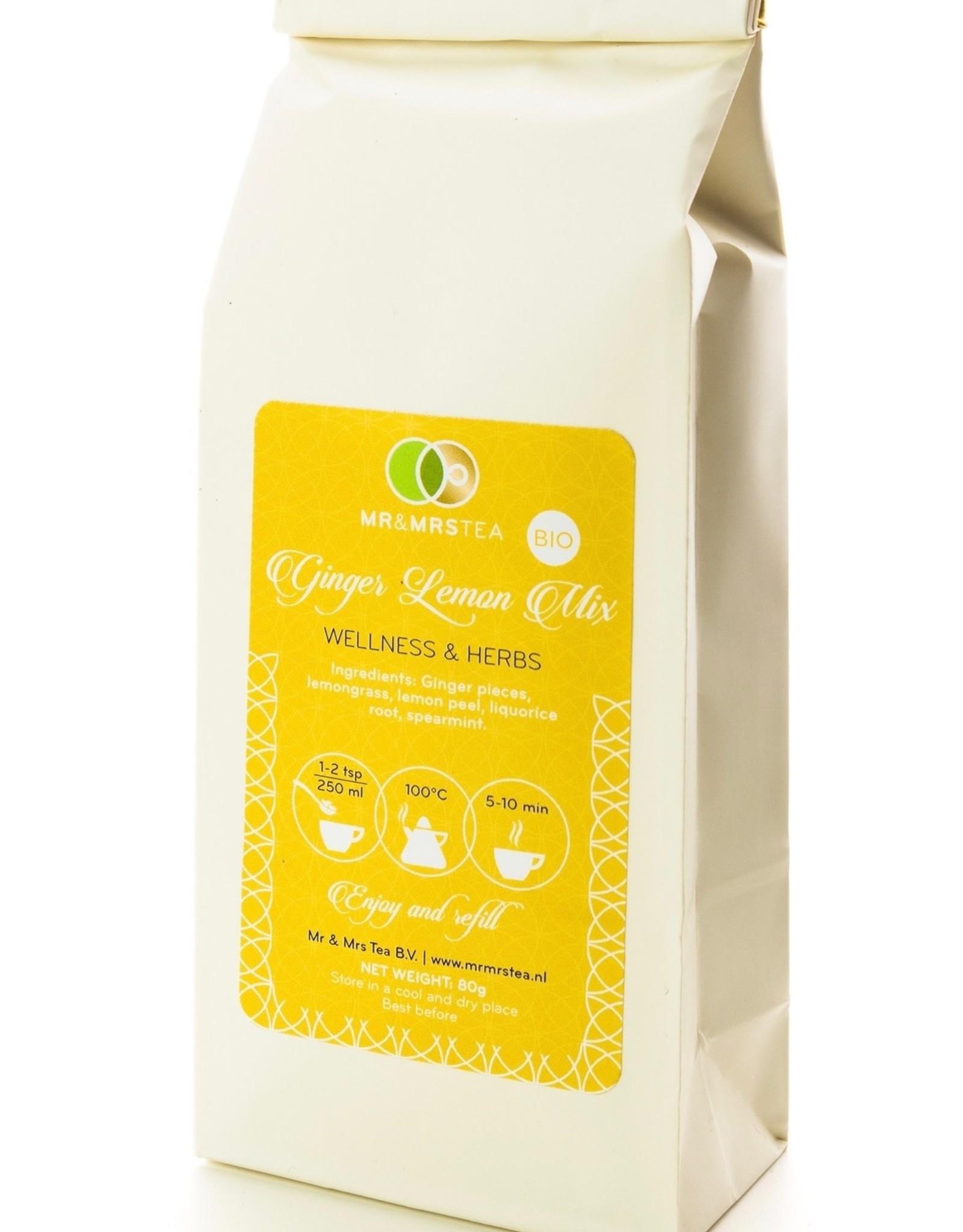 Mr&Mrs Tea Ginger Lemon mix