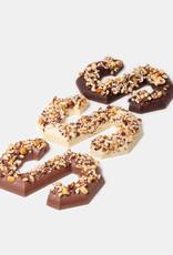Florentina.Chocolates Sinterklaas Letter Hazelnoot Vegan Mylk