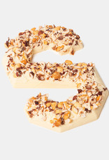 Florentina.Chocolates Sinterklaas Letter Hazelnoot Vegan Whyte