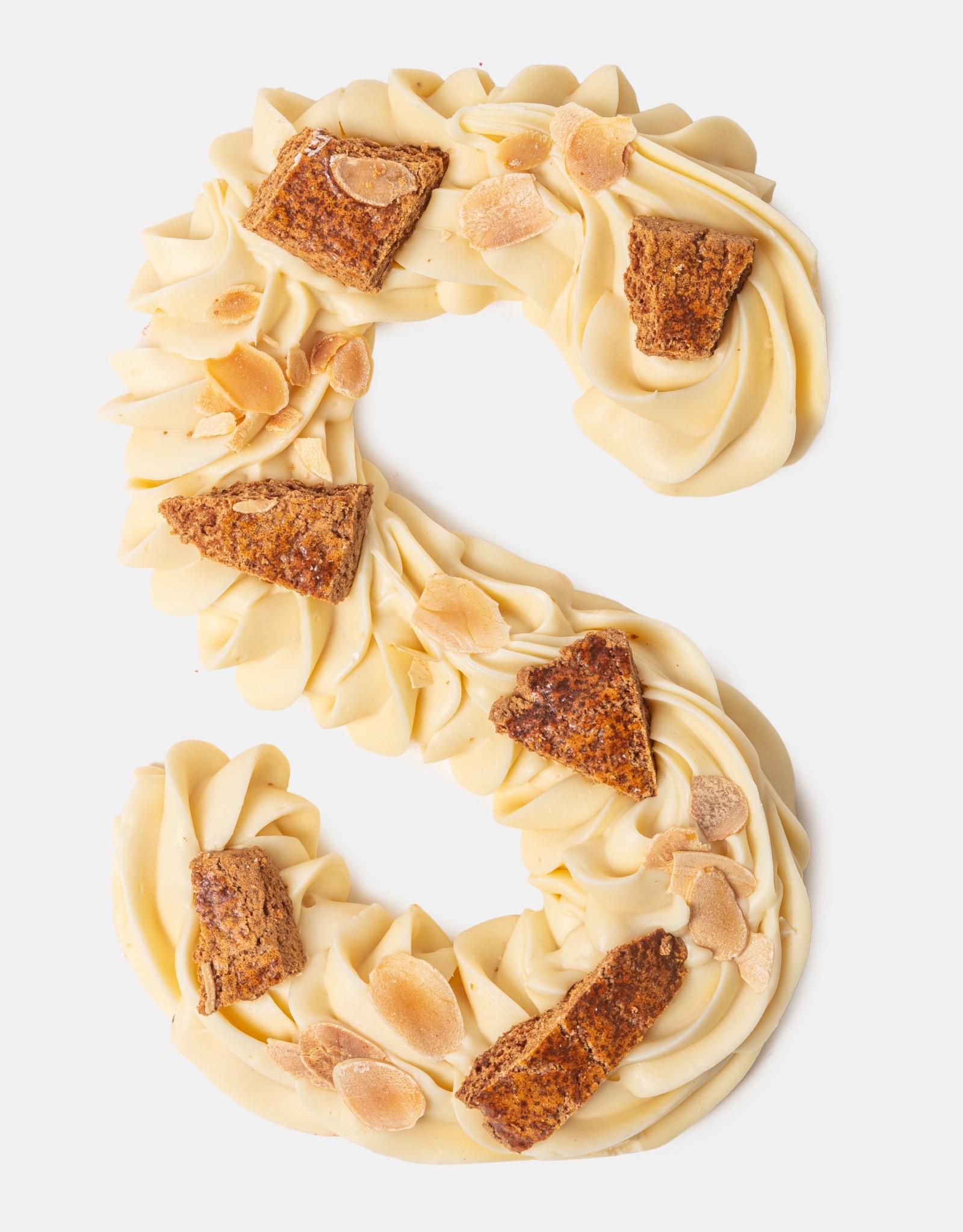 Florentina.Chocolates Sinterklaas Letter Luxe White
