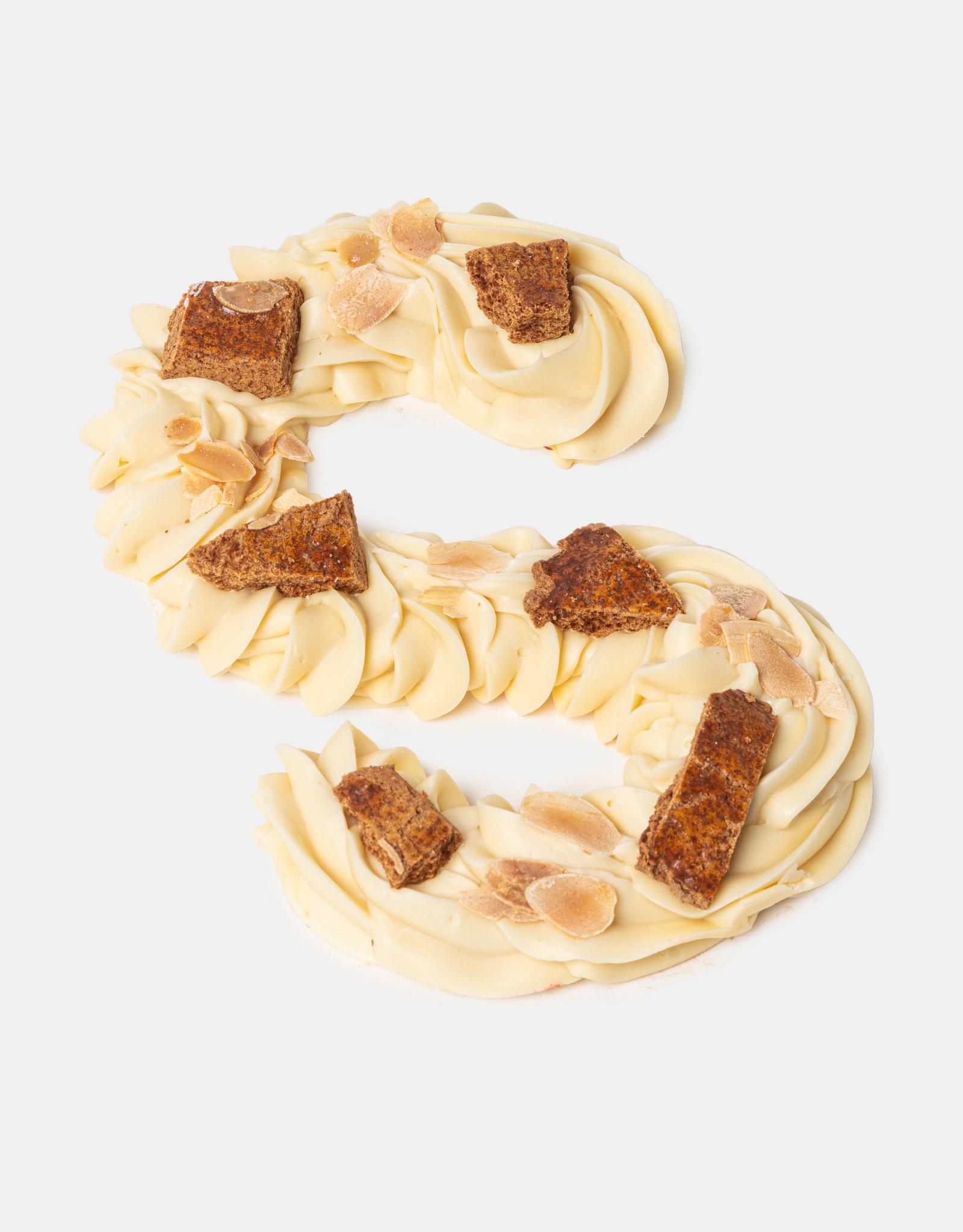 Florentina.Chocolates Sinterklaas Letter Luxe Vegan Whyte