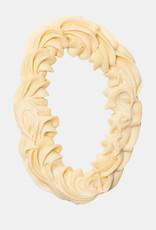 Florentina.Chocolates Sinterklaas Letter Gespoten Wit