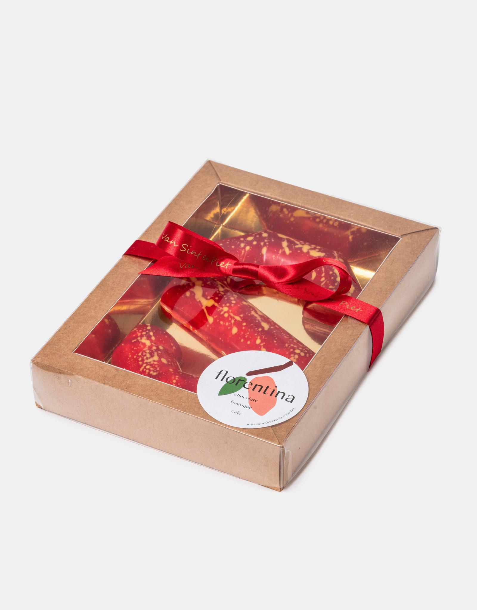 Florentina.Chocolates Sinterklaas Letter Puur