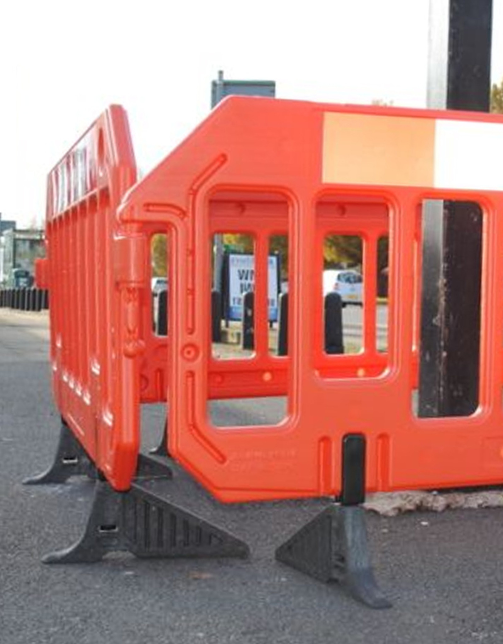Ri-Traffic | Afzethek Kunststof Oranje