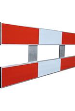 Ri-Traffic   Schrikhek Aluminium 150 cm (Enkelzijdige Reflectie)