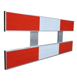 Ri-Traffic | Schrikhek aluminium 1,5m enkelzijdig reflecterend