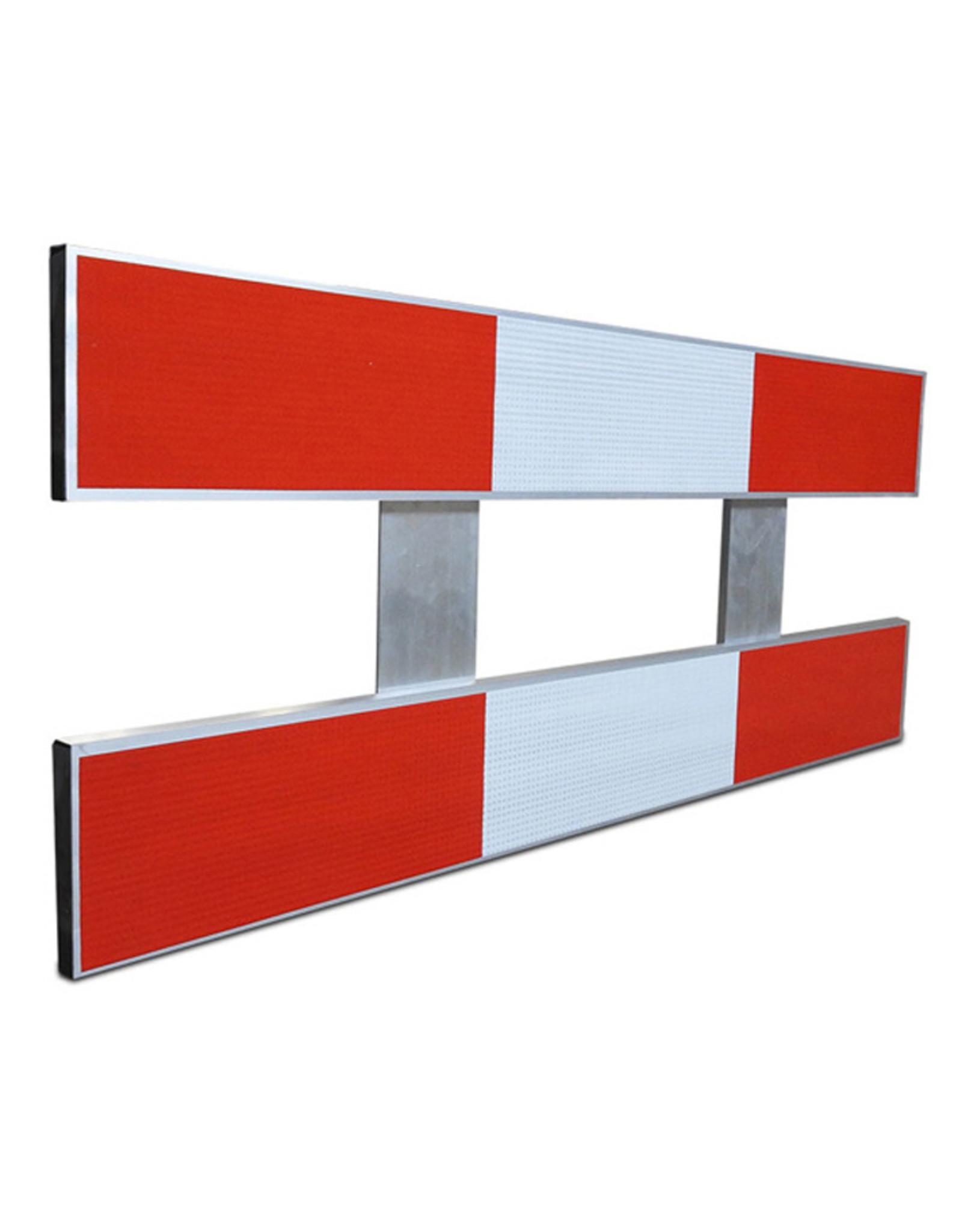 Ri-Traffic | Aluminium Schrikhek 150 cm (Dubbelzijdige Reflectie)