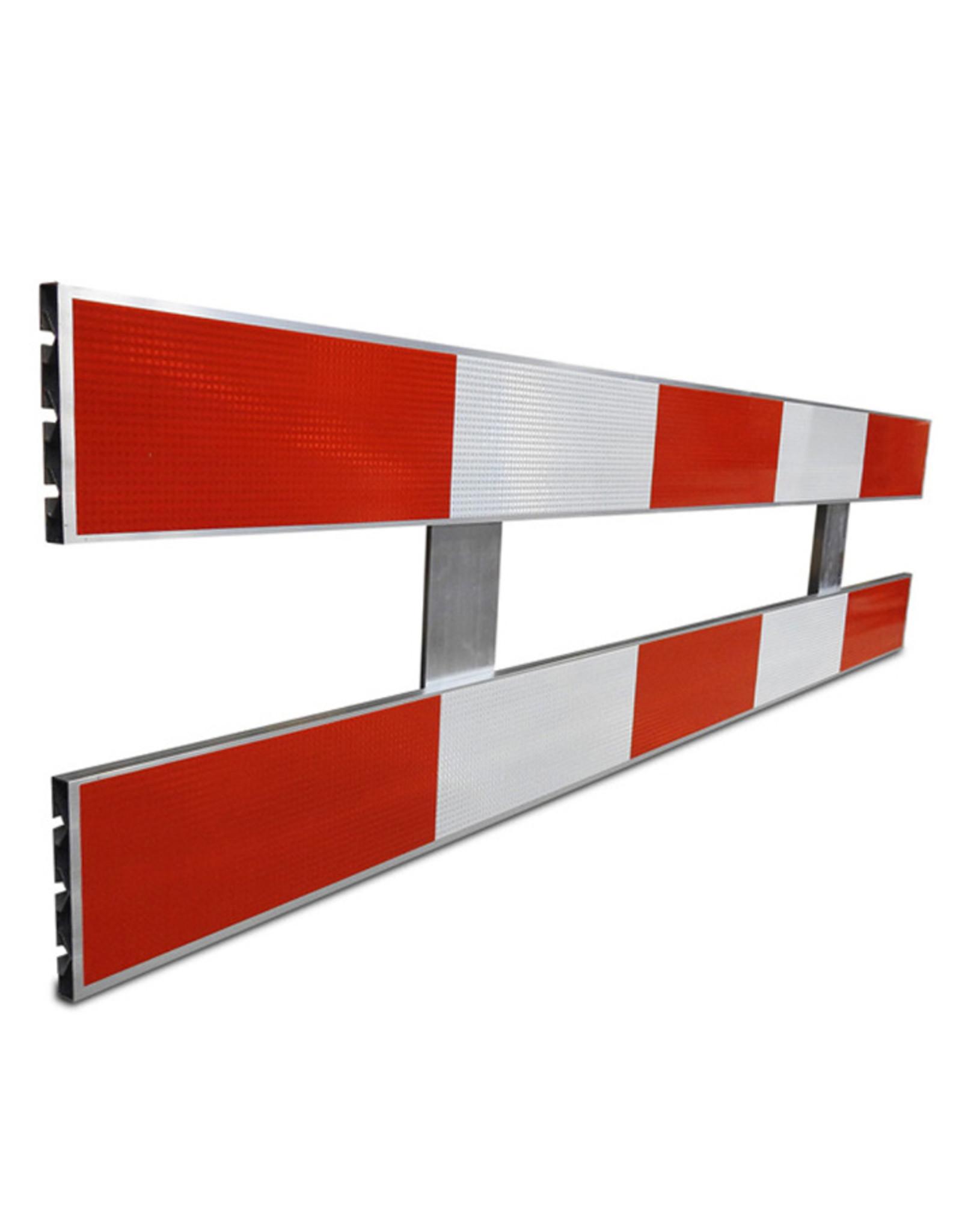 Ri-Traffic | Schrikhek Aluminium 250 cm (Enkelzijdige Reflectie)