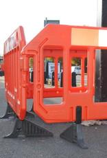 Verkeerswinkel | Kunststof Afzethekken Oranje, 6 Stuks