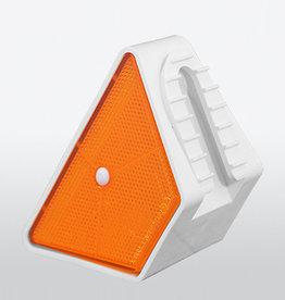Ri-Traffic | Vangrail Reflector Oranje-Wit - Dubbelzijdig
