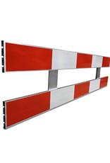 Ri-Traffic | Aluminium Schrikhek 250 cm (Dubbelzijdige Reflectie)