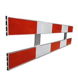 Ri-Traffic | Schrikhek aluminium 2,5m dubbelzijdig reflecterend