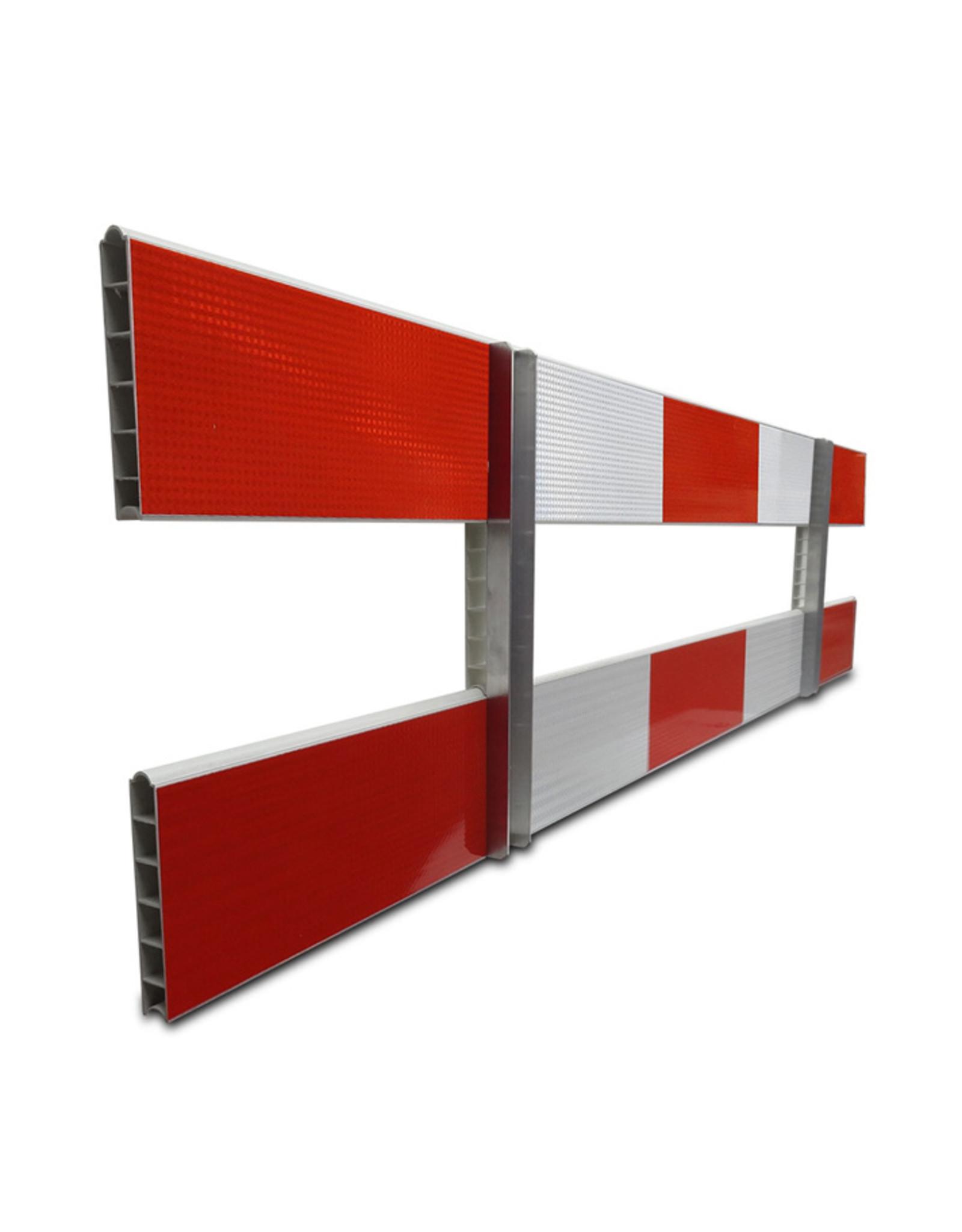 Ri-Traffic | Schrikhek Kunststof 250 cm (Enkelzijdige Reflectie)