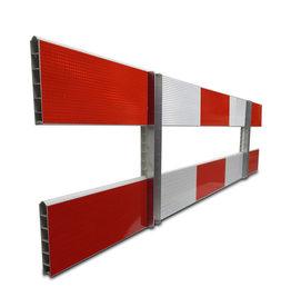 Ri-Traffic | Schrikhek kunststof 2,5m dubbelzijdig reflecterend
