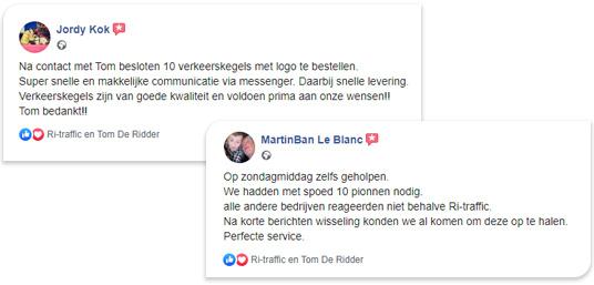 Ervaringen Verkeerswinkel.nl en Ri-Traffic