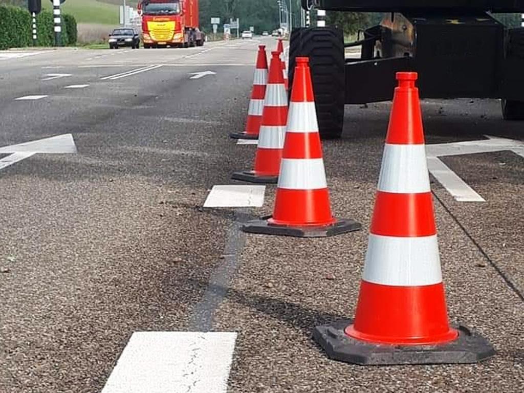 Veilig werken aan de weg